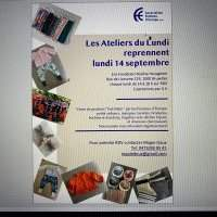 Les Ateliers du Lundi - Monday 14 September 2020 14:00-18:00